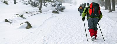 Зимний поход-трекинг с заданиями