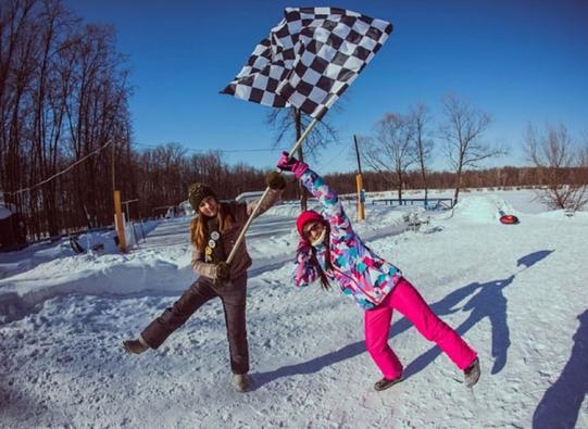 Зимний спортивный квест