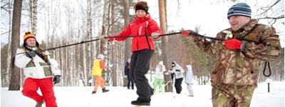 Русские зимние забавы