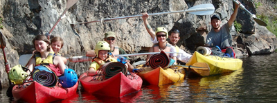 Сплав по реке (водный поход с инструктором): надежные профи всегда на службе
