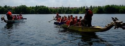 Групповые тренировки на лодках-драконах от 6 человек в группе – новая услуга!