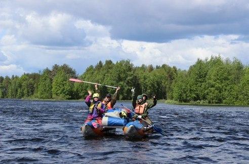 Групповой сплав с обучением на каяках от 10 человек в группе